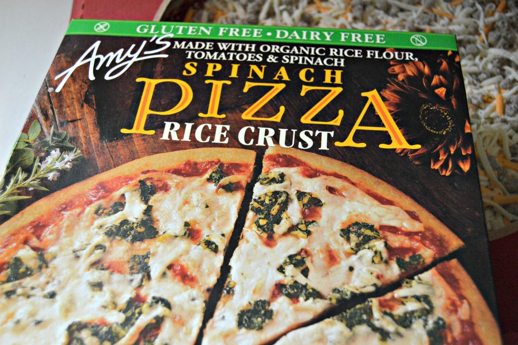 Amy's gluten free pizza