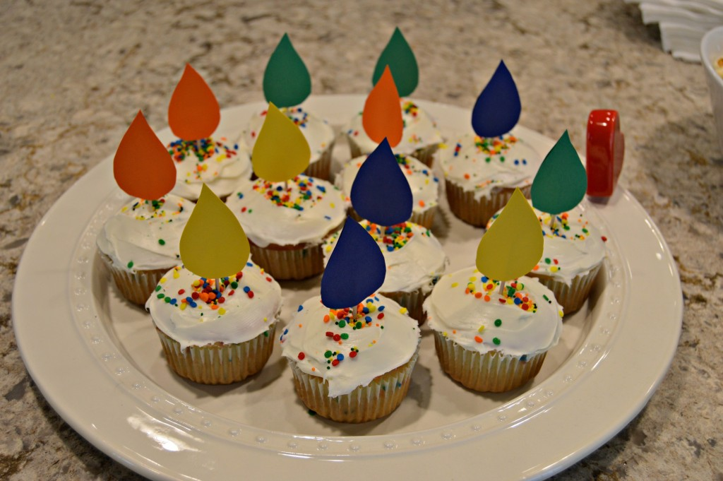 Baby Sprinkle Cupcakes