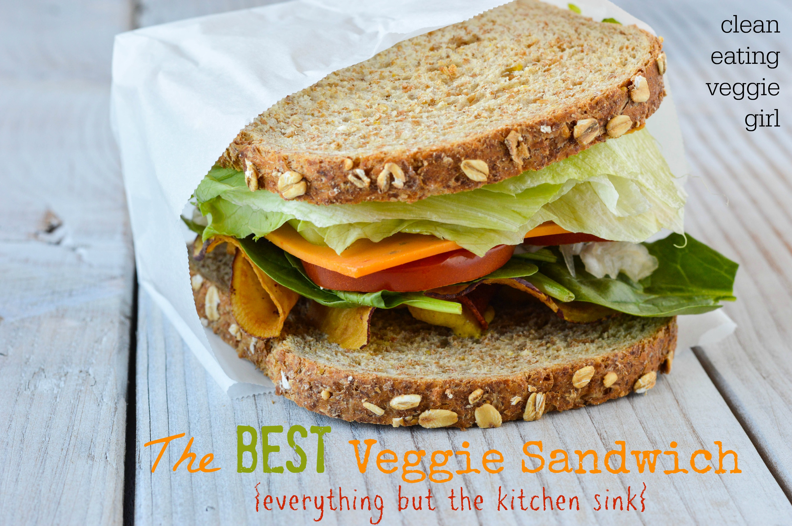 The Best Veggie Sandwich