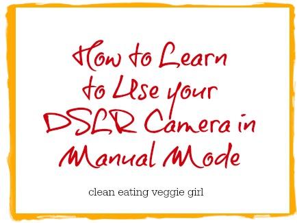 Camera Manual Mode Graphic