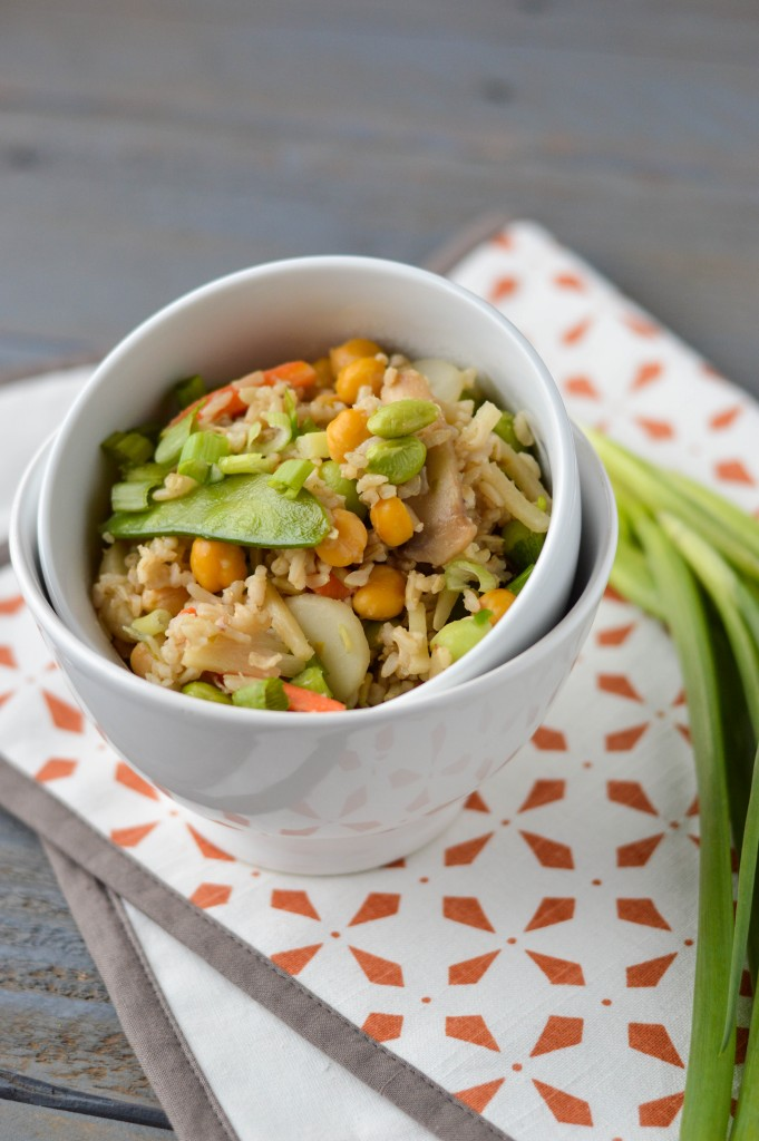 Chickpea Veggie Fried Rice 5