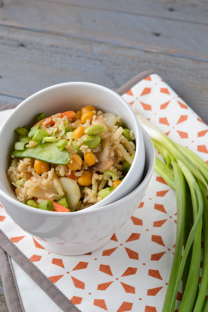 Chickpea Veggie Fried Rice 7