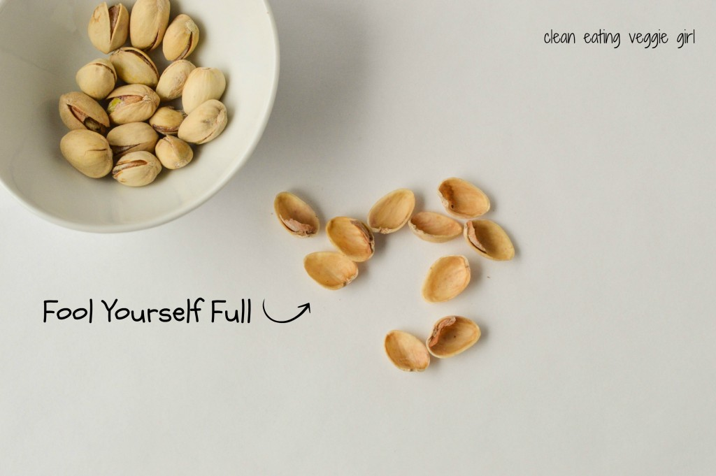 Fool Yourself Full Pistachios