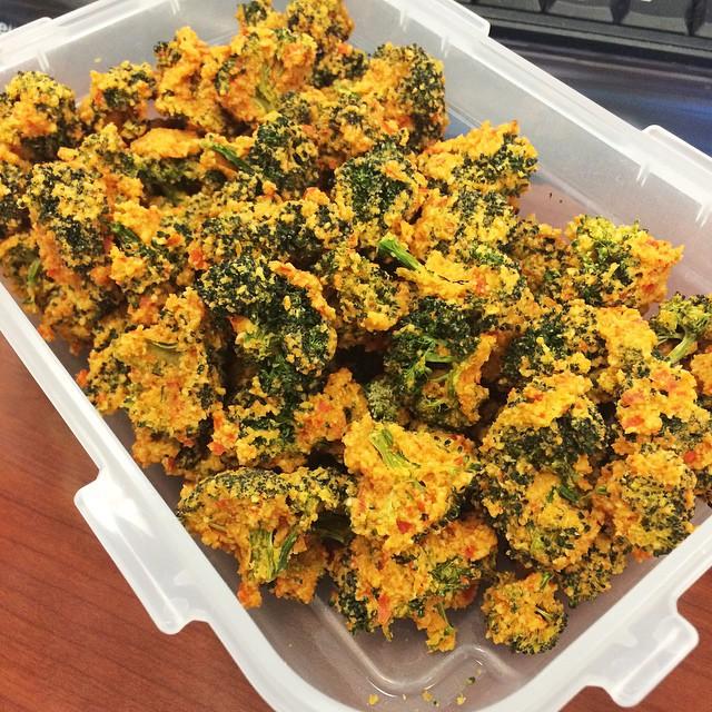 Instagram Cheezy Broccoli Poppers