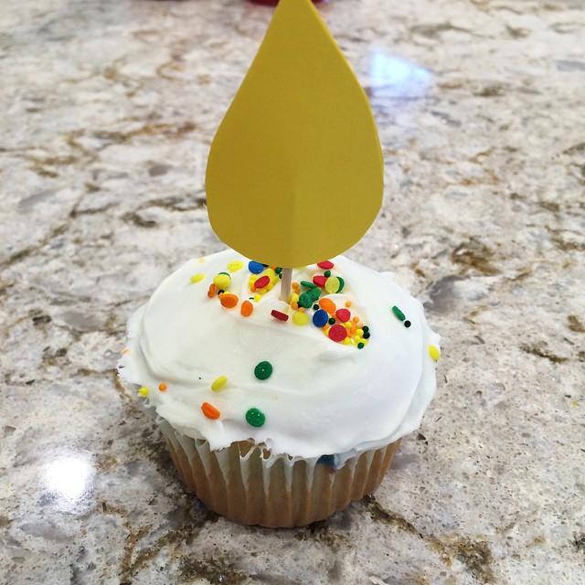 Instagram Sprinkle Cupcake