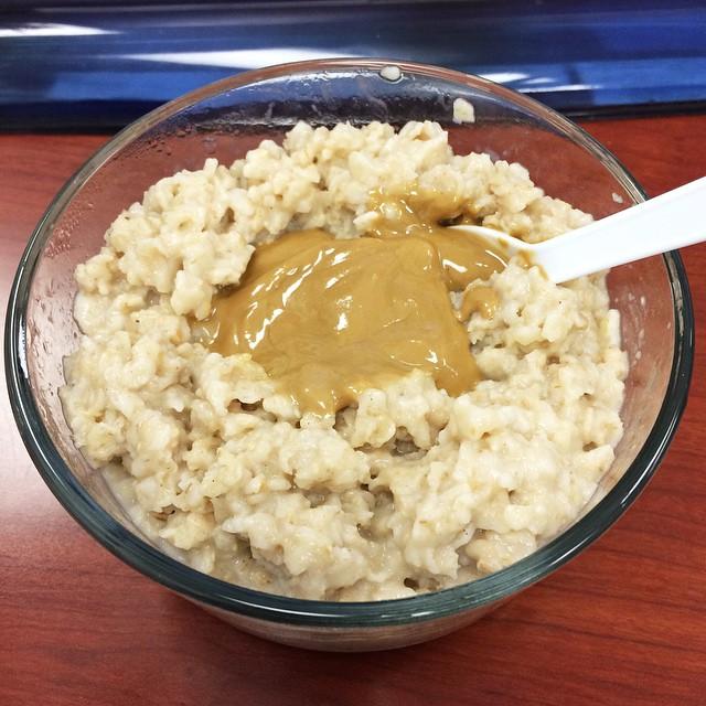 Instagram oatmeal