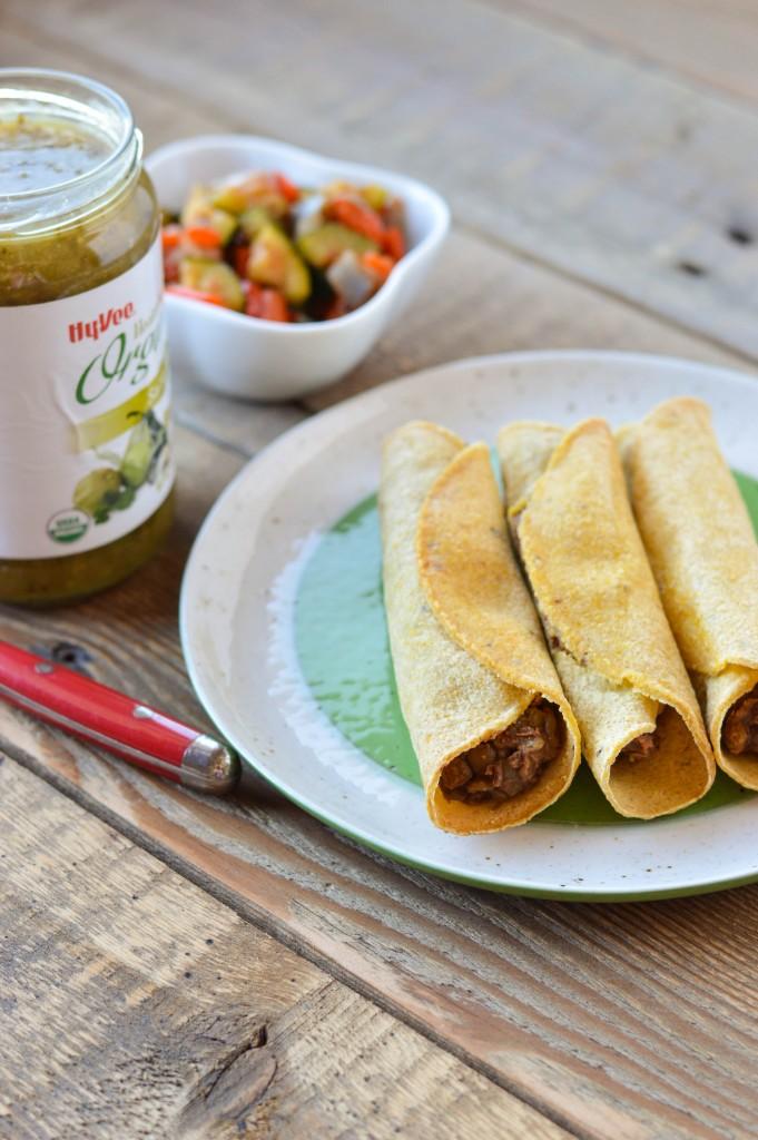 Lentil Bean Taquitos 3