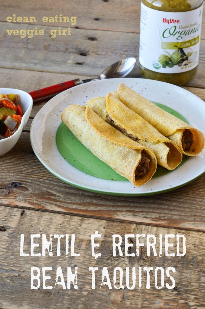 Lentil Bean Taquitos 4