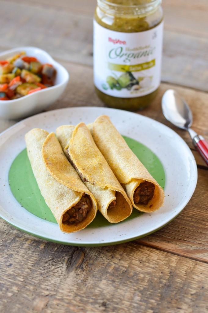 Lentil Bean Taquitos 6