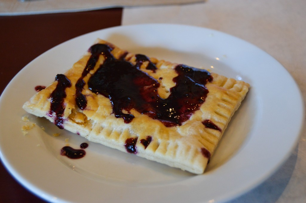 Over Easy Omaha Blueberry Cheesecake Poptart