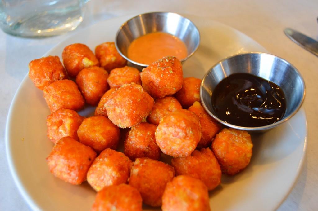Over Easy Omaha Sweet Potato Tots
