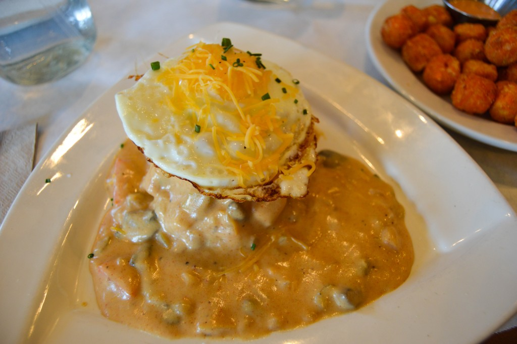 ... Jordan and Erin also ordered the Biscuits and Gravy and loved them