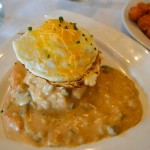 Over Easy Omaha Veggie Biscuits and Gravy