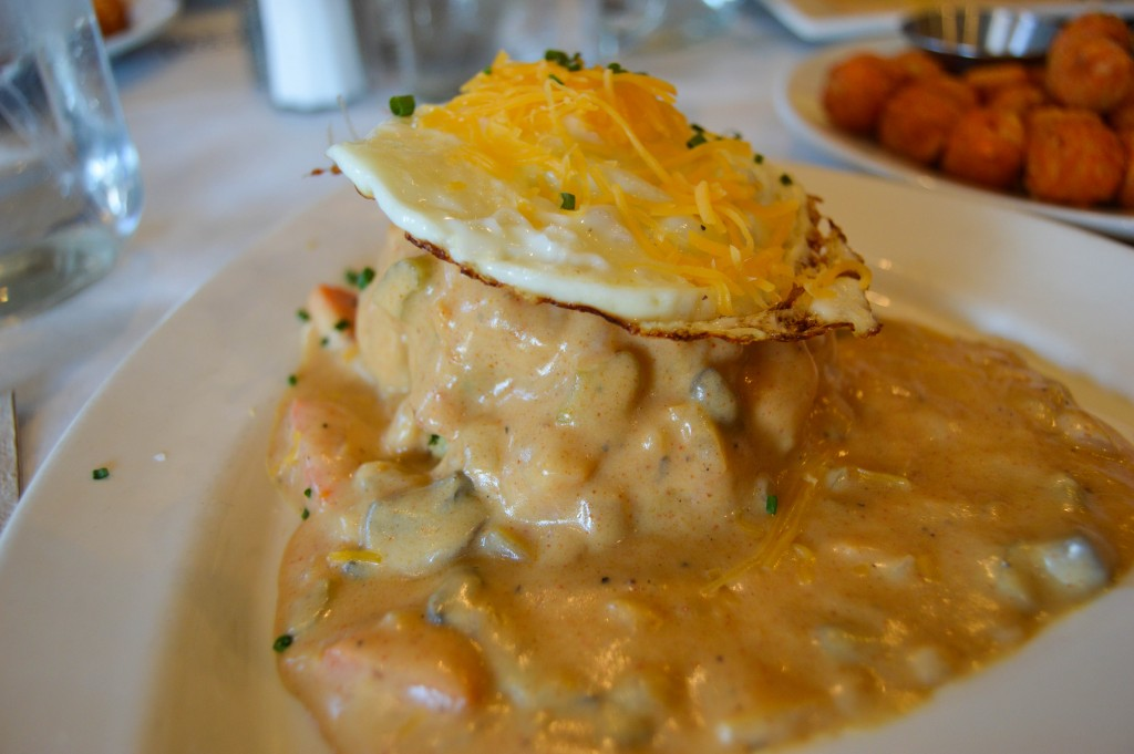 Over Easy Omaha Veggie Biscuits and Gravy 2