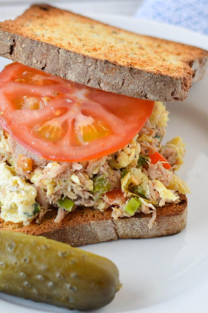 Tuna Egg Scramble Sandwich 3