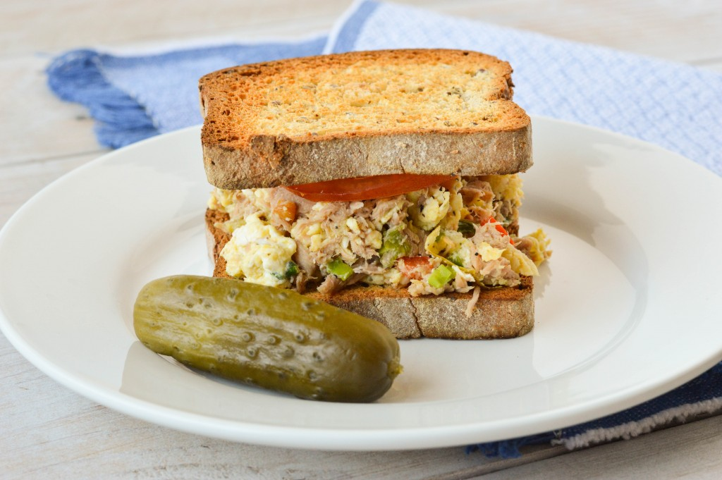 Tuna Egg Scramble Sandwich 5