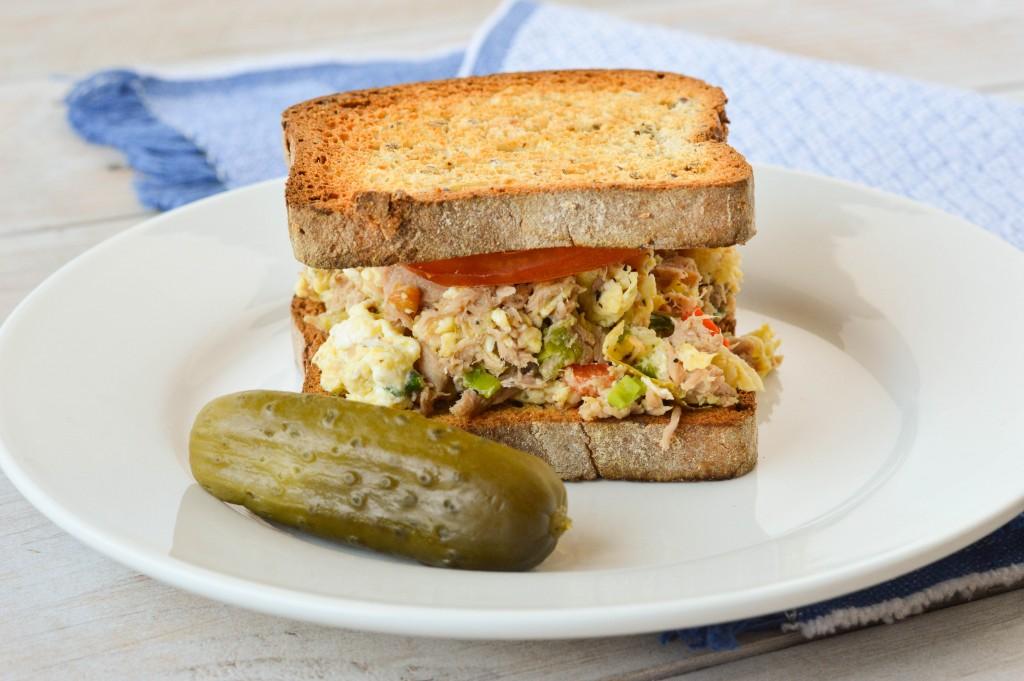 Tuna Egg Scramble Sandwich 5