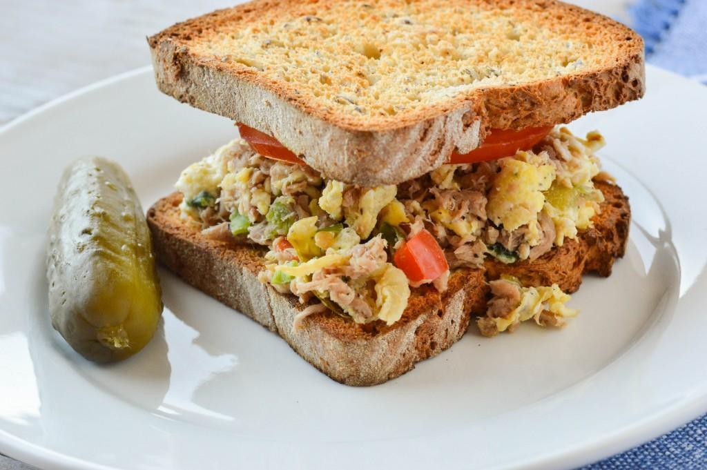 Tuna Egg Scramble Sandwich 7