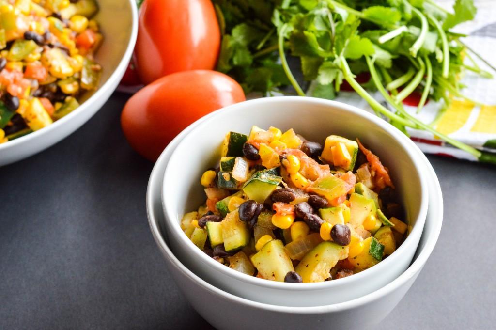 Vegetable Black Bean Mexican Skillet 2