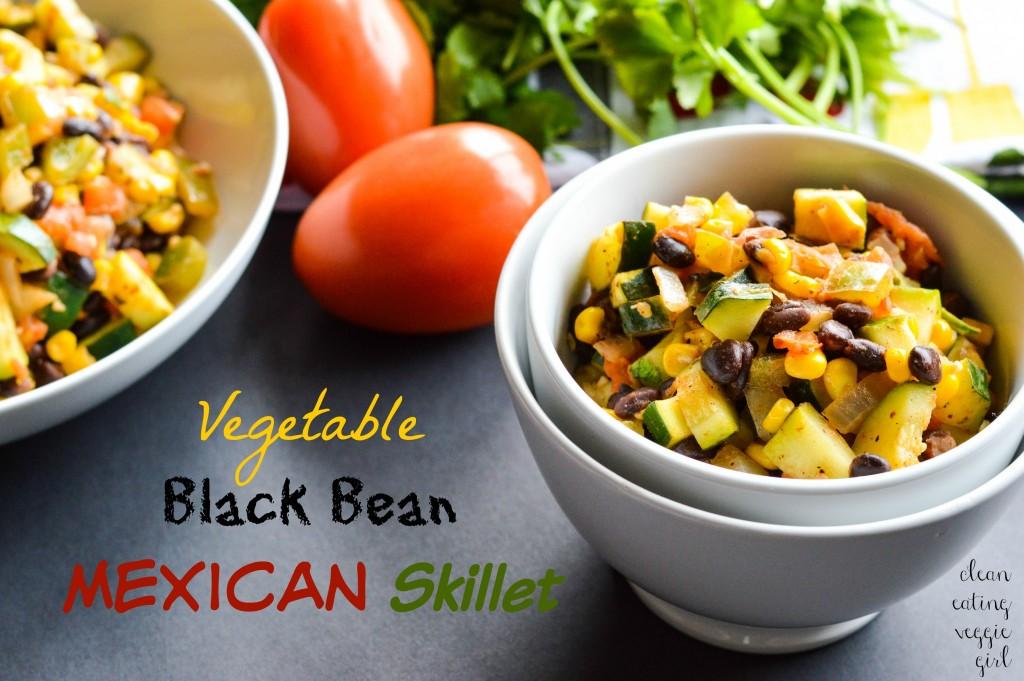 Vegetable Black Bean Mexican Skillet 3