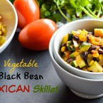 Vegetable Black Bean Mexican Skillet 3