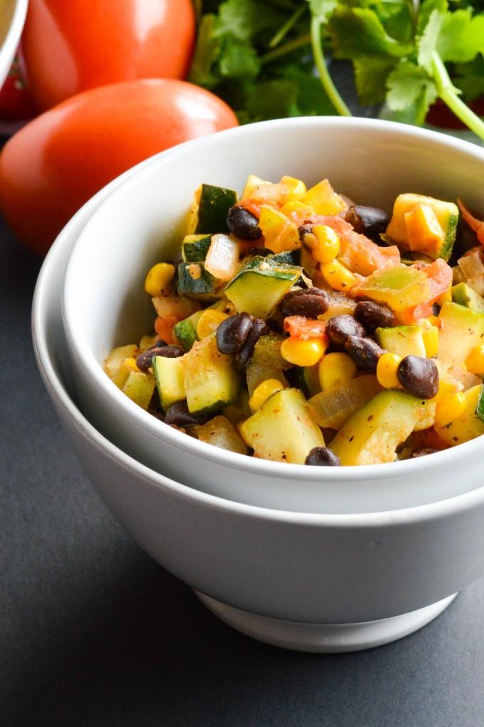 Vegetable Black Bean Mexican Skillet 6