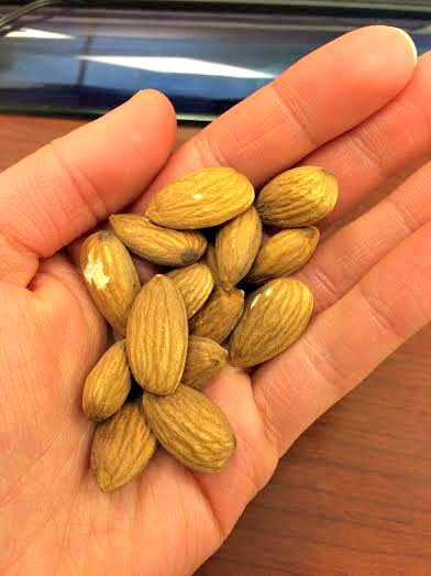 WIAW almonds