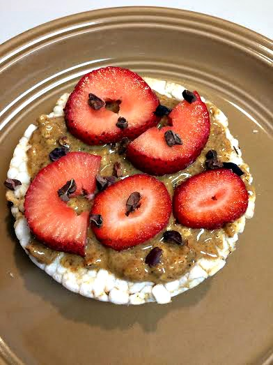 WIAW dessert rice cake