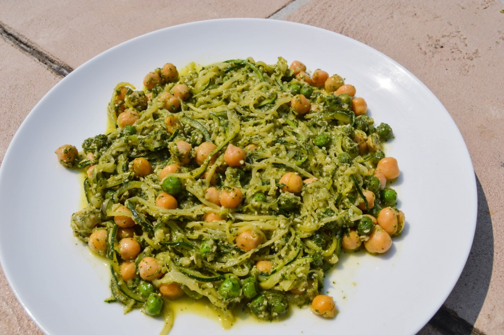 3c1k Pea and Pesto Zoodles 2