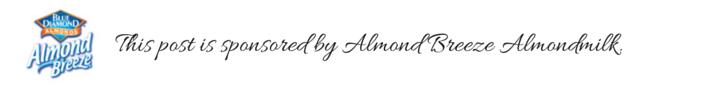 Almond Breeze Almondmilk sponsored post