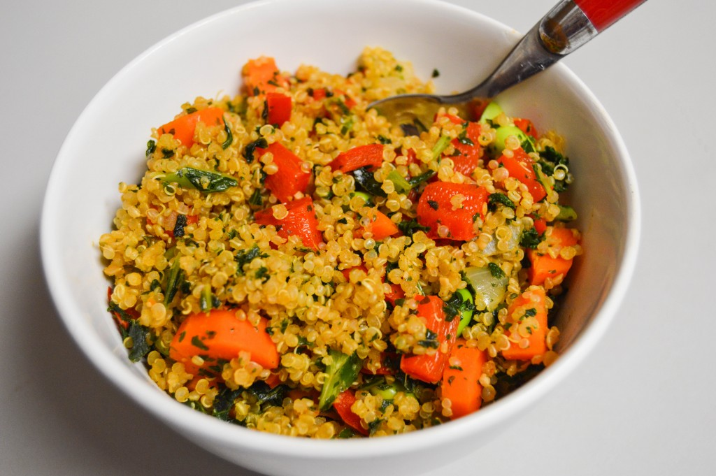 FFF Quinoa Fried Rice
