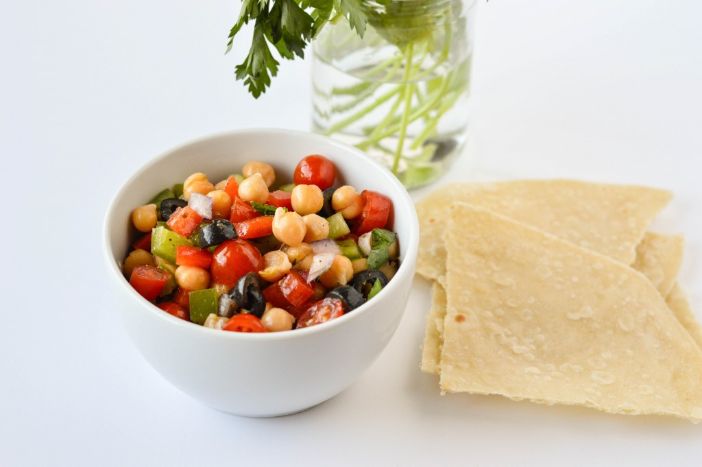 Greek Chickpea Salad-2