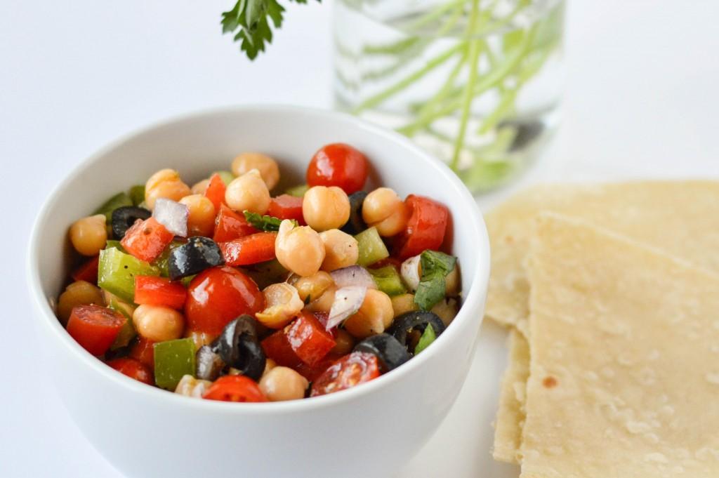 Greek Chickpea Salad 2-2
