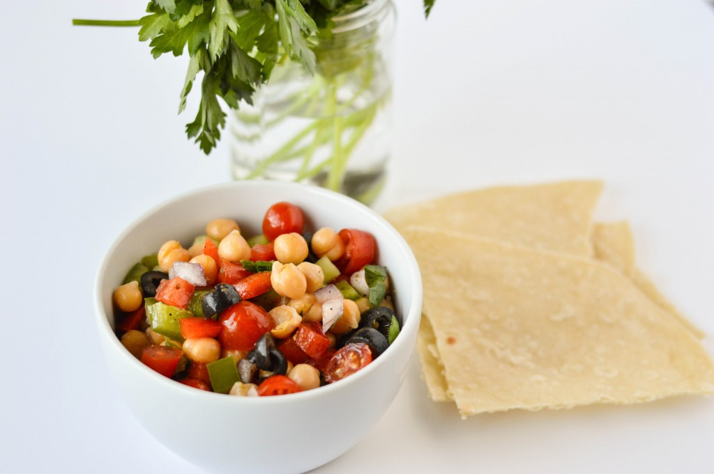 Greek Chickpea Salad 3-2
