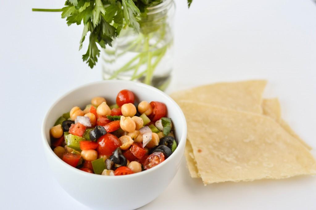 Greek Chickpea Salad 3-2