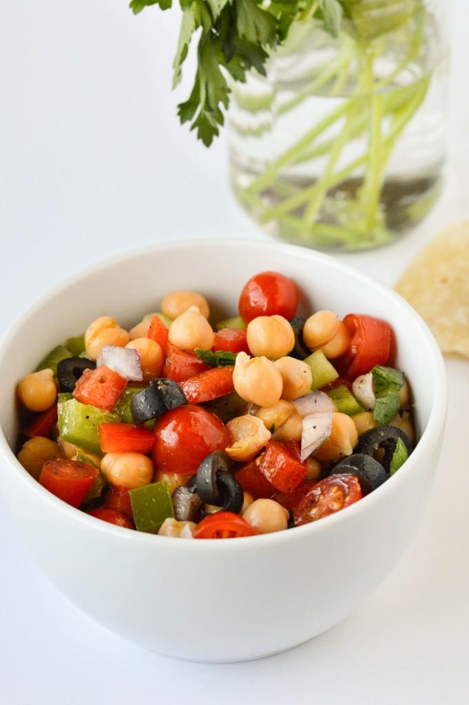 Greek Chickpea Salad 5-2