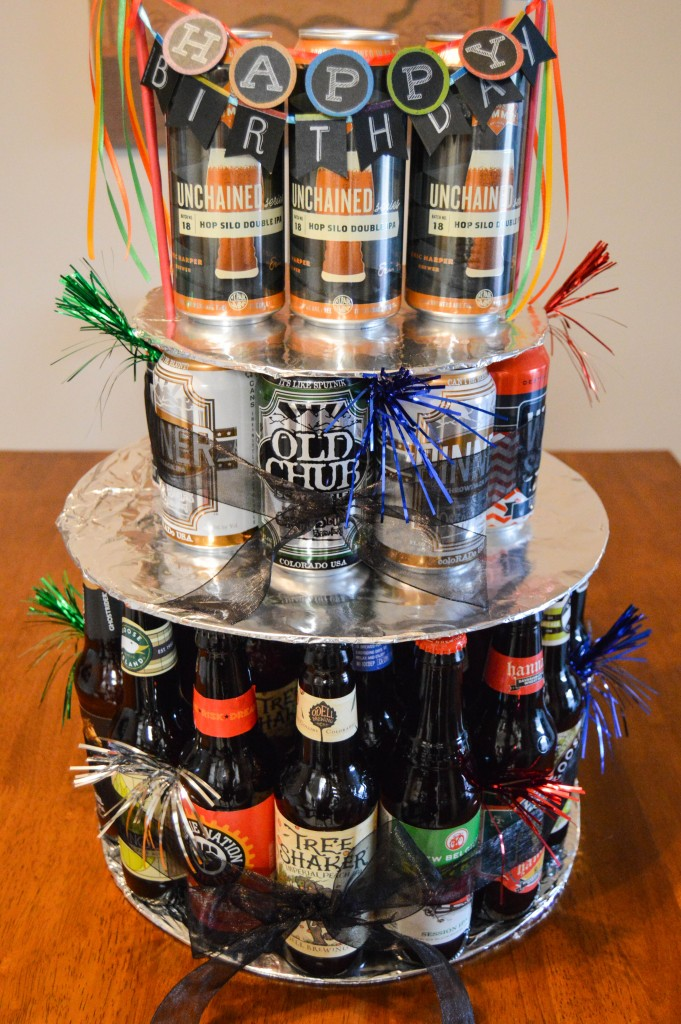 Happy birthday craft beer cake - photo#9