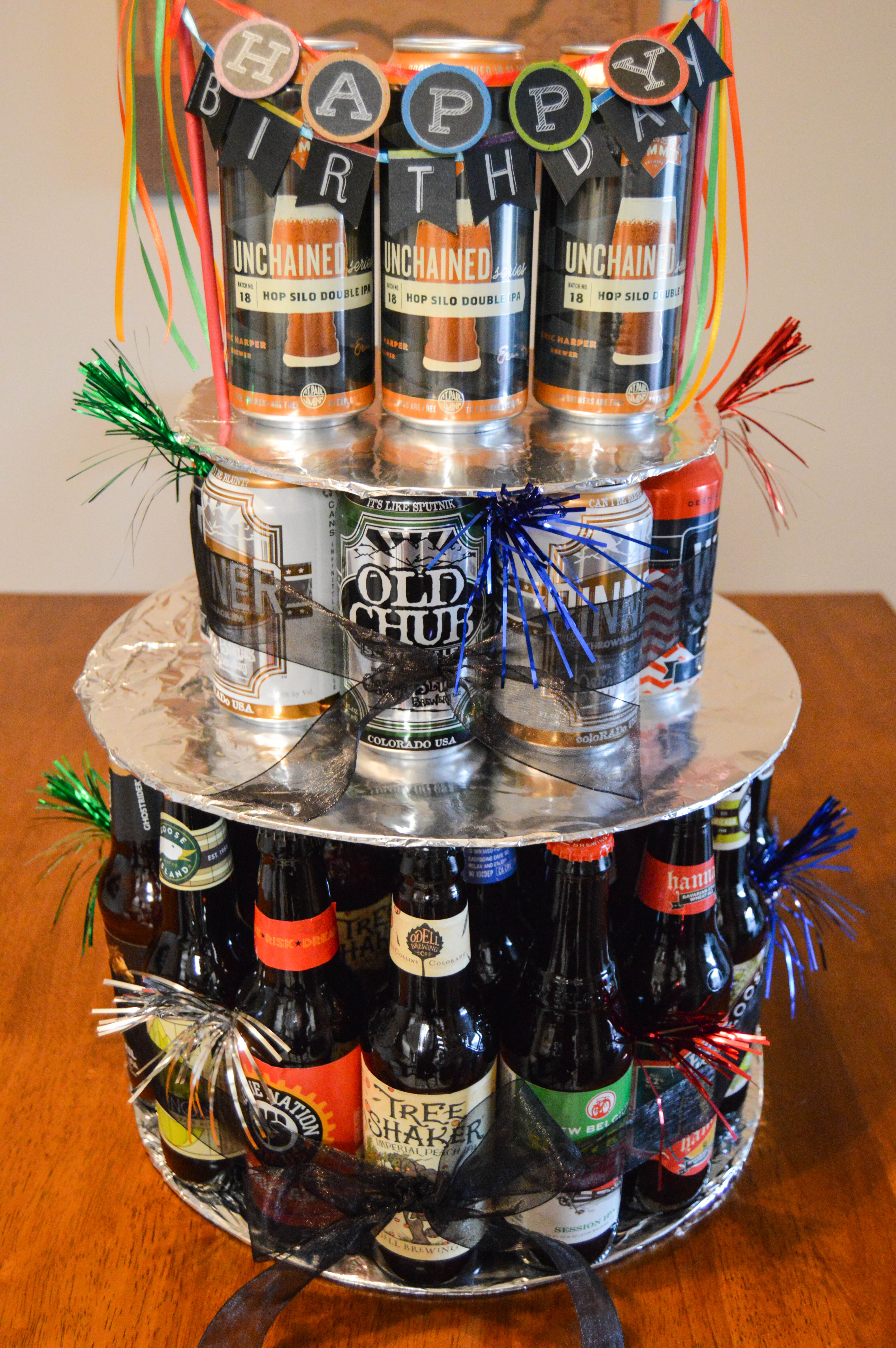 Beer Drinkers Birthday Cake