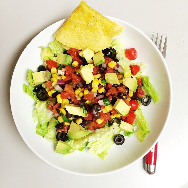 Instagram Tortilla Salad