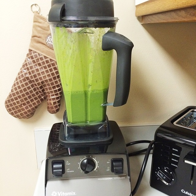 Instagram green smoothie