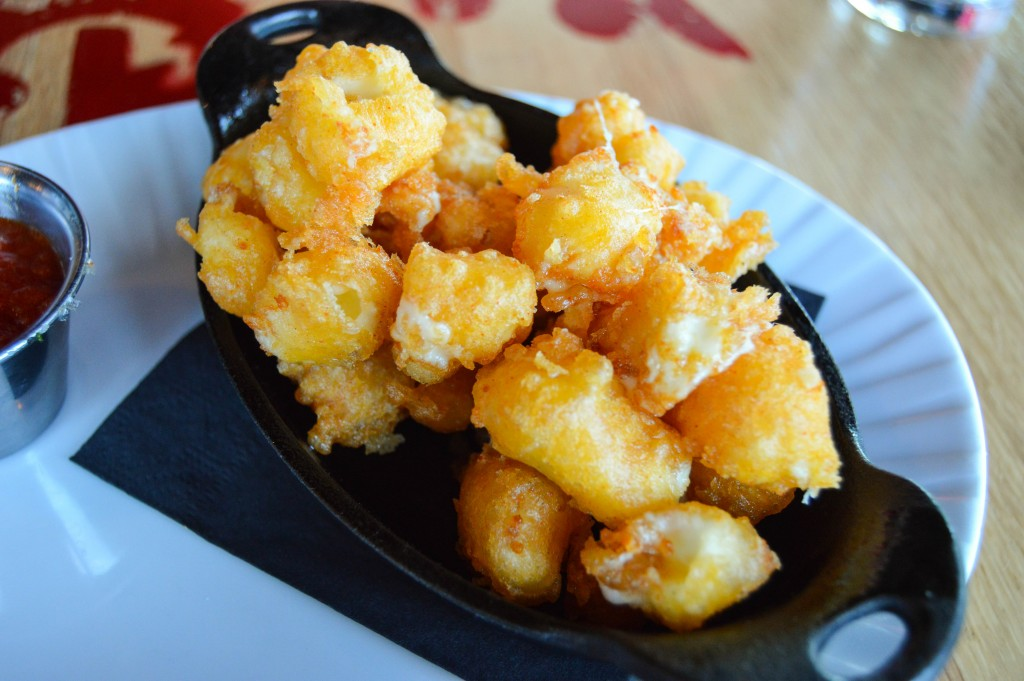 Louie's Wine Dive Cheese Curds
