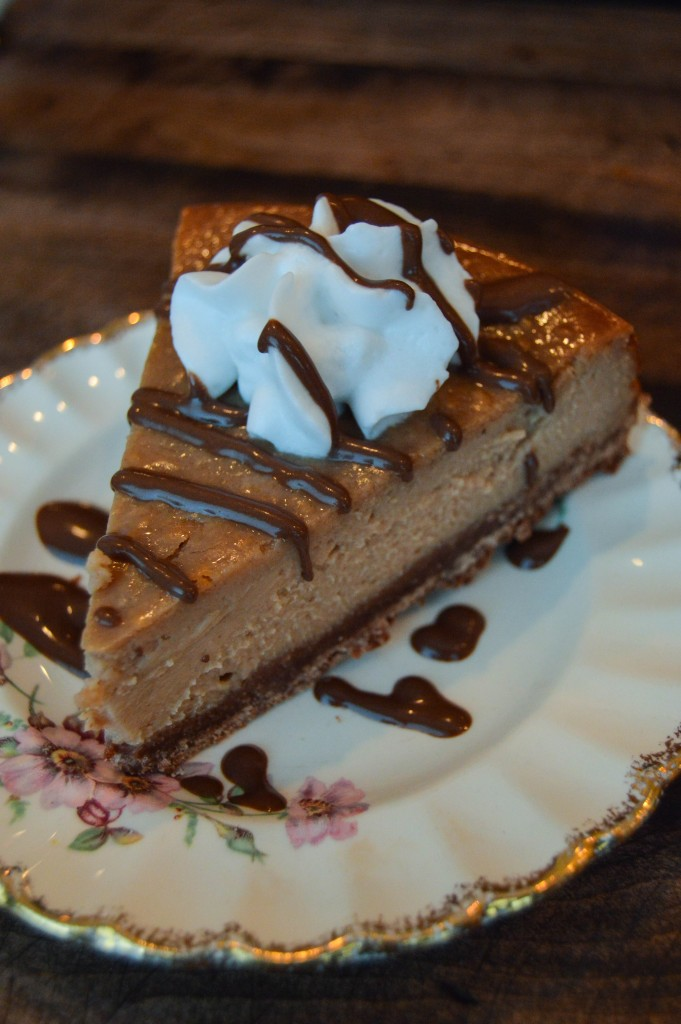 Modern Love PB Chocolate Cheesecake