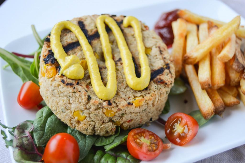 Veestro Quinoa Burger