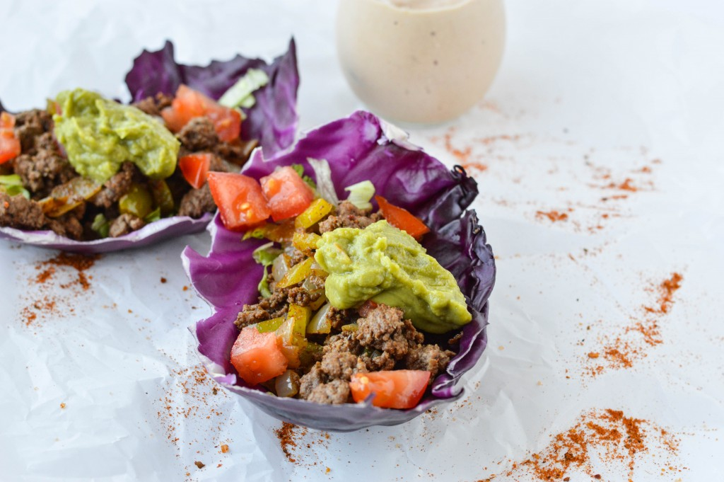 Cabbage_Shell_Beef_Tacos_Creamy_Salsa