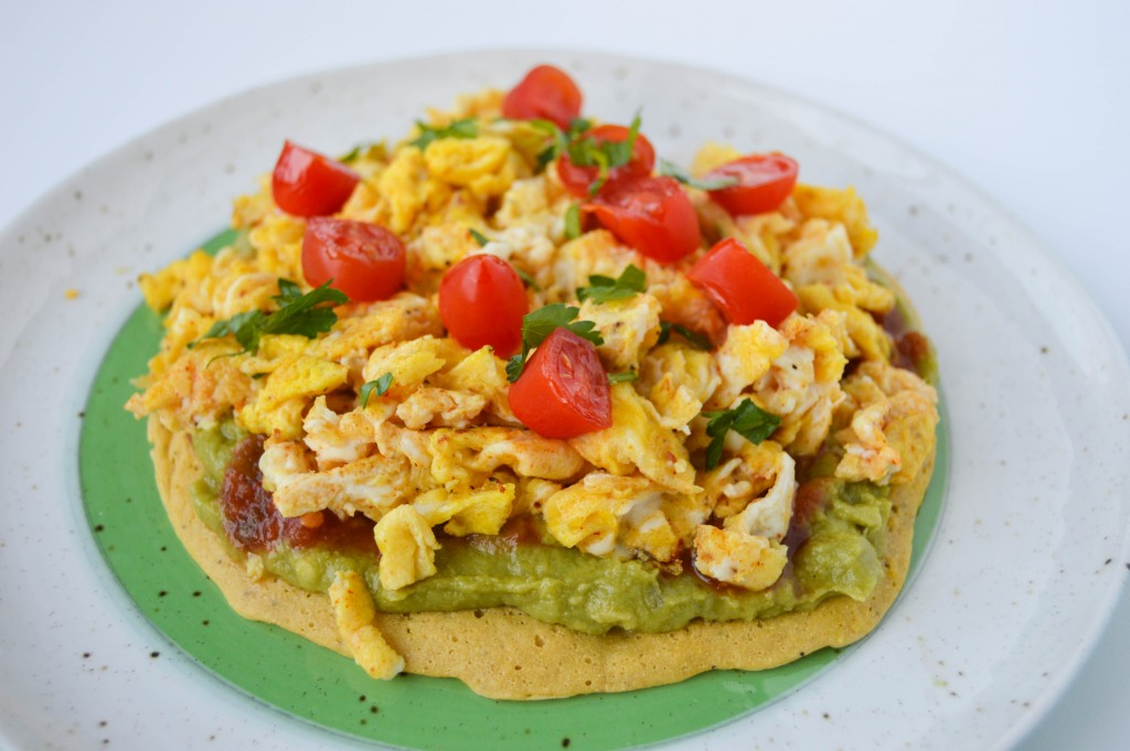 FFF Chickpea Breakfast Pizza
