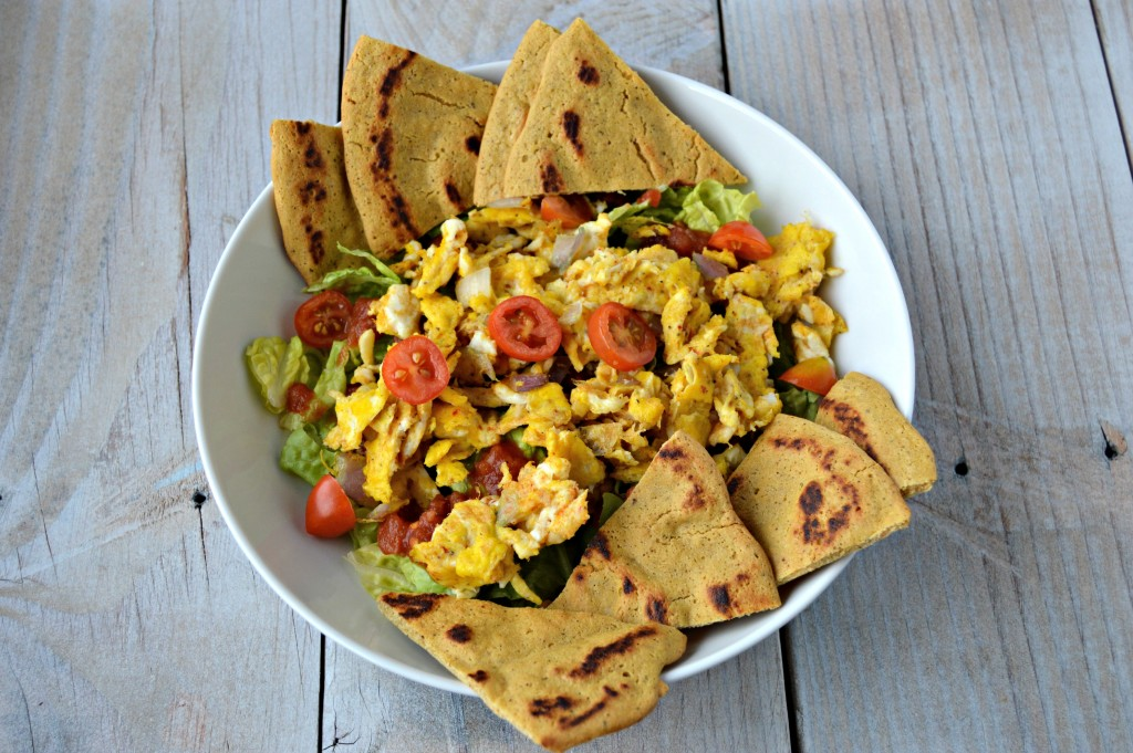 Mexican egg salad