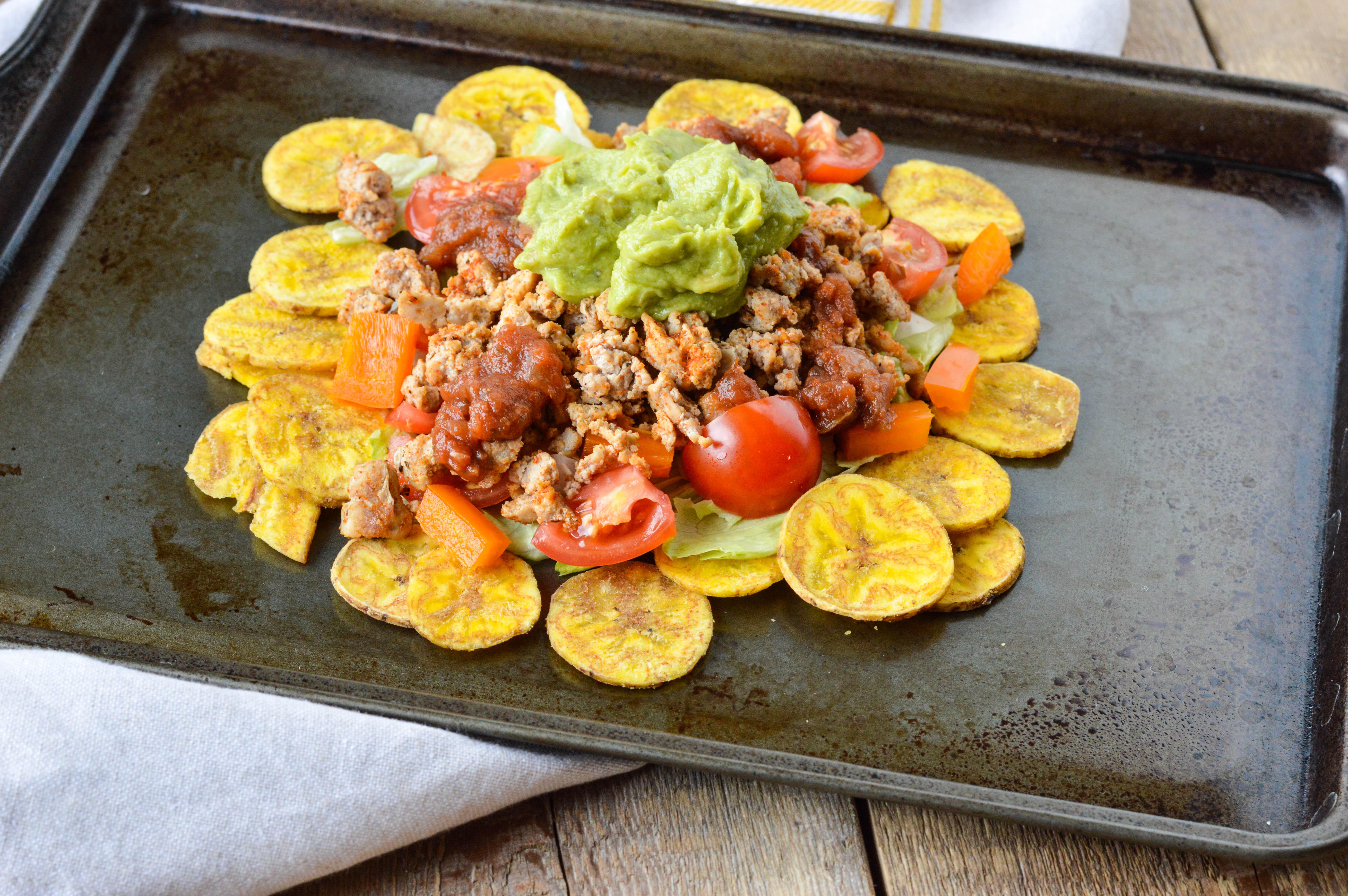 Ground Turkey Plantain Nachos The Perfect Meal Or Snack Recipe Paleo