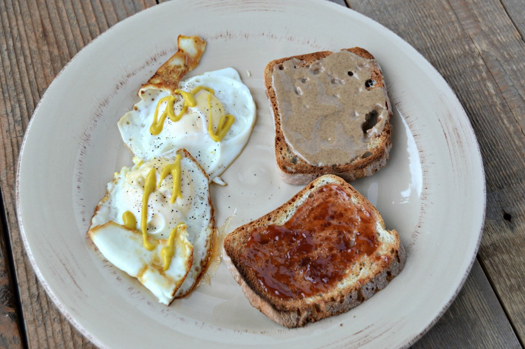 WIAW toast eggs
