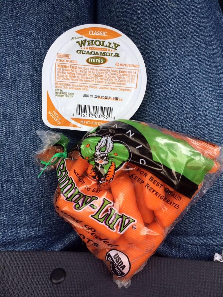 wiaw carrots guacamole