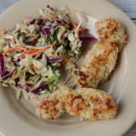 Thai slaw and chicken tenders